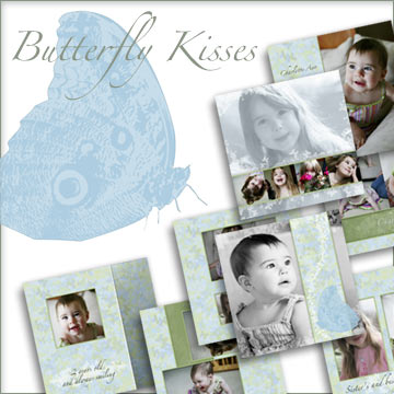 Butterfly Kisses 10 Page Album