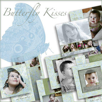 Butterfly Kisses 20 Page Album