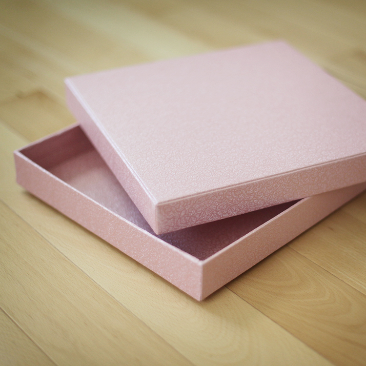 Pink Texture Album Box (10.50x10.50x1.75 inches)