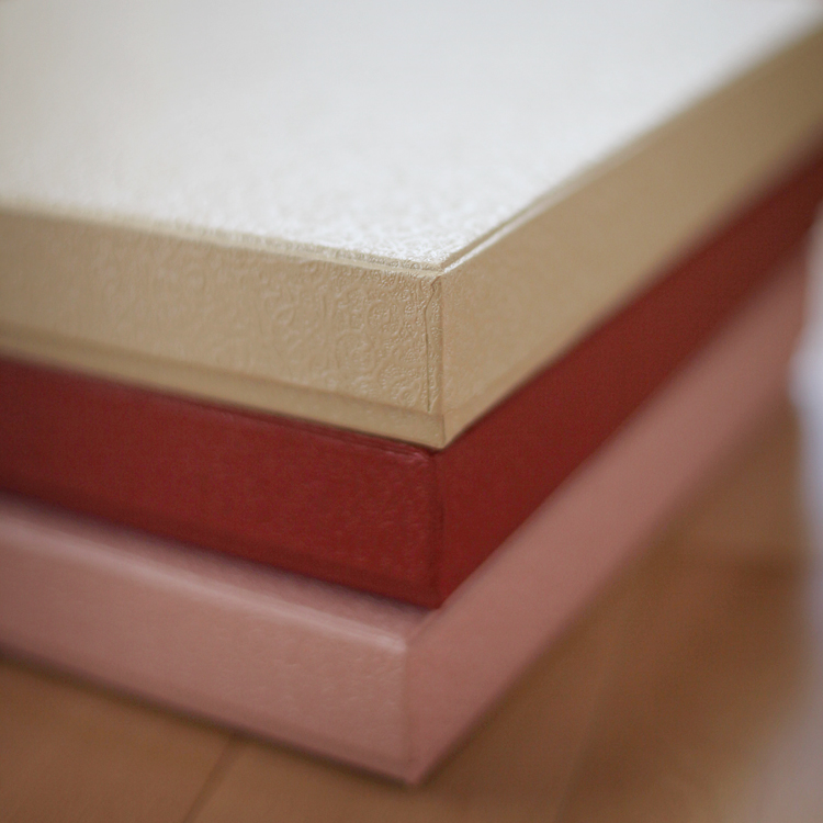 Pale Yellow Textured Album Box (10.50x10.50x1.75 inches)